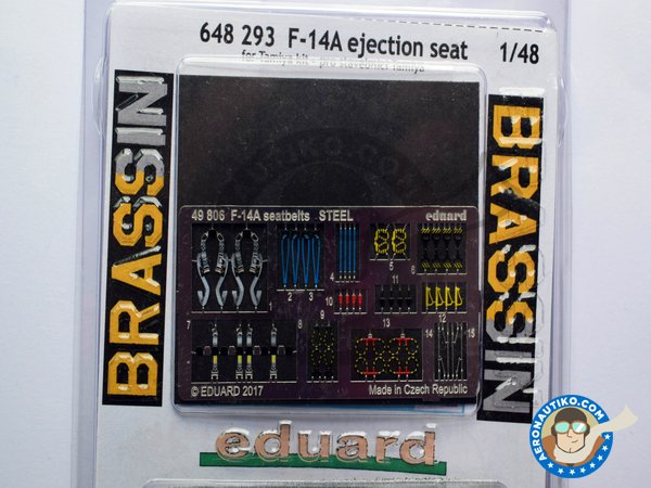 Image 3: F-14A Ejection Seat | Seat in 1/48 scale manufactured by Eduard (ref. 648293)