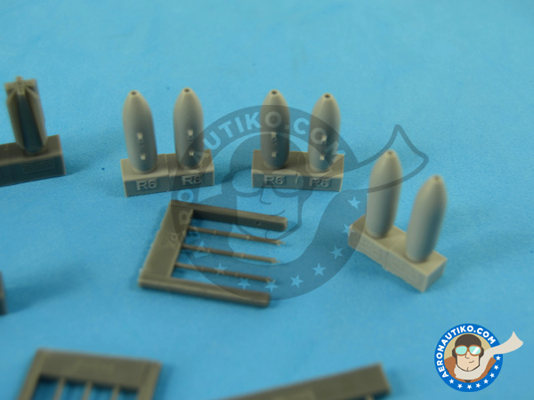 Image 4: M117 | Bombs in 1/72 scale manufactured by Eduard (ref.672059)