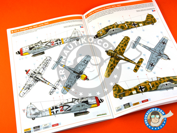 Image 17: Focke-Wulf Fw 190 Würger F-8 | Airplane kit in 1/72 scale manufactured by Eduard (ref. 70119)