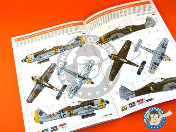 Image 18: Focke-Wulf Fw 190 Würger F-8 | Airplane kit in 1/72 scale manufactured by Eduard (ref. 70119)
