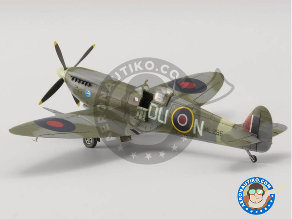 Image 8: Supermarine Spitfire Mk. IXc late | Airplane kit in 1/72 scale manufactured by Eduard (ref. 70121)