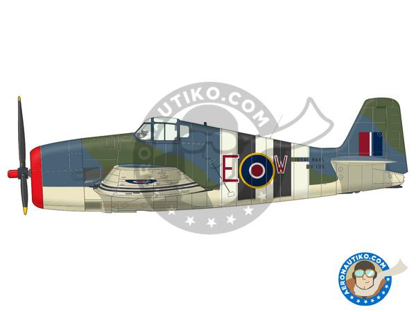 Image 2: Grumman F6F Hellcat Mk. I | Airplane kit in 1/72 scale manufactured by Eduard (ref.7437)