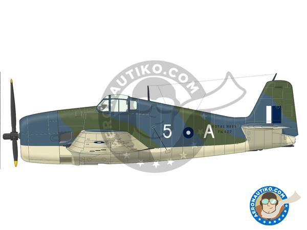 Image 3: Grumman F6F Hellcat Mk. I | Airplane kit in 1/72 scale manufactured by Eduard (ref.7437)
