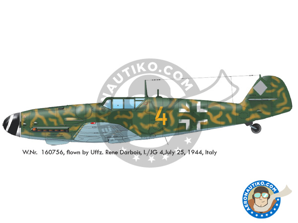 Image 4: Messerschmitt Bf 109 G-6 early | Airplane kit in 1/48 scale manufactured by Eduard (ref. 82113)
