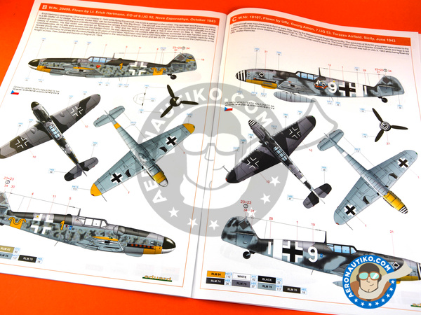 Image 14: Messerschmitt Bf 109 G-6 early | Airplane kit in 1/48 scale manufactured by Eduard (ref. 82113)