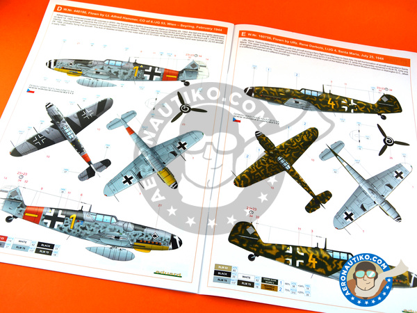 Image 15: Messerschmitt Bf 109 G-6 early | Airplane kit in 1/48 scale manufactured by Eduard (ref.82113)