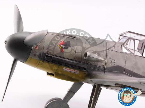 Image 15: Messerschmitt Bf 109 F-4 | Airplane kit in 1/48 scale manufactured by Eduard (ref. 82114)