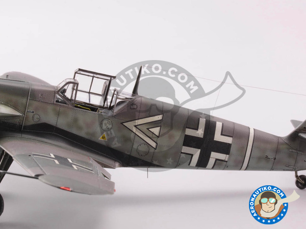 Image 16: Messerschmitt Bf 109 F-4 | Airplane kit in 1/48 scale manufactured by Eduard (ref. 82114)