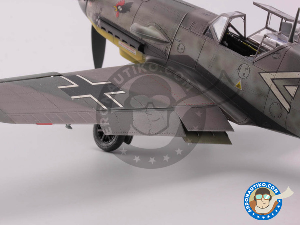 Image 18: Messerschmitt Bf 109 F-4 | Airplane kit in 1/48 scale manufactured by Eduard (ref. 82114)