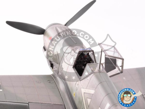 Image 19: Messerschmitt Bf 109 F-4 | Airplane kit in 1/48 scale manufactured by Eduard (ref. 82114)