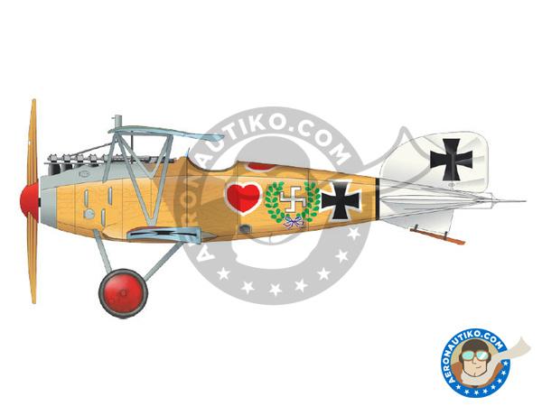 Image 1: Albatros Flugzeugwerke D.III | Airplane kit in 1/48 scale manufactured by Eduard (ref.8438)