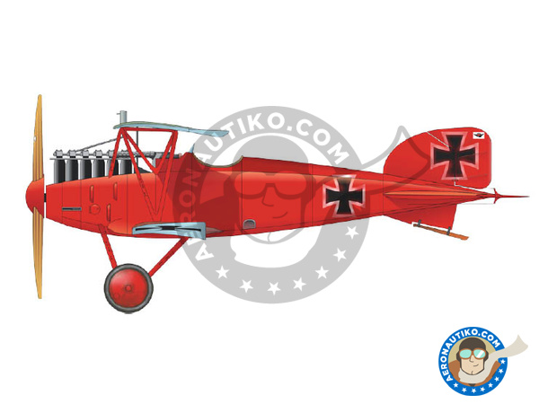 Image 2: Albatros Flugzeugwerke D.III | Airplane kit in 1/48 scale manufactured by Eduard (ref.8438)