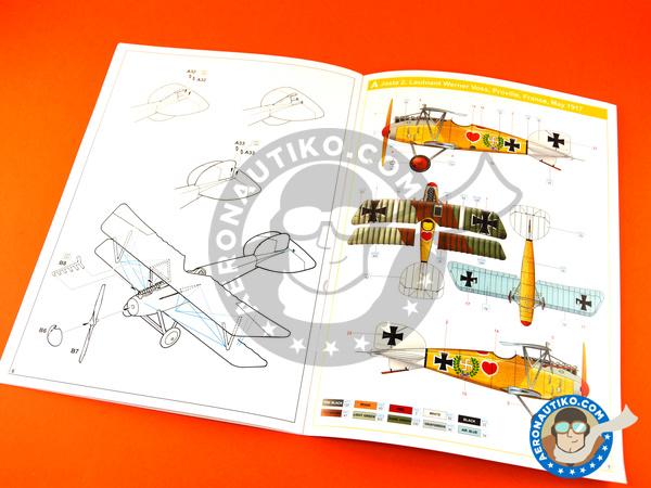 Image 10: Albatros Flugzeugwerke D.III | Airplane kit in 1/48 scale manufactured by Eduard (ref.8438)