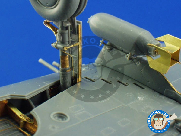 Image 6: Republic P-47 Thunderbolt D-20 | Big ED set in 1/48 scale manufactured by Eduard (ref. BIG4815)