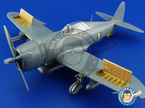 Image 9: Republic P-47 Thunderbolt D-20 | Big ED set in 1/48 scale manufactured by Eduard (ref. BIG4815)