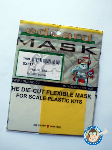 Yak-38 | Masks in 1/48 scale manufactured by Eduard (ref. EX517) image