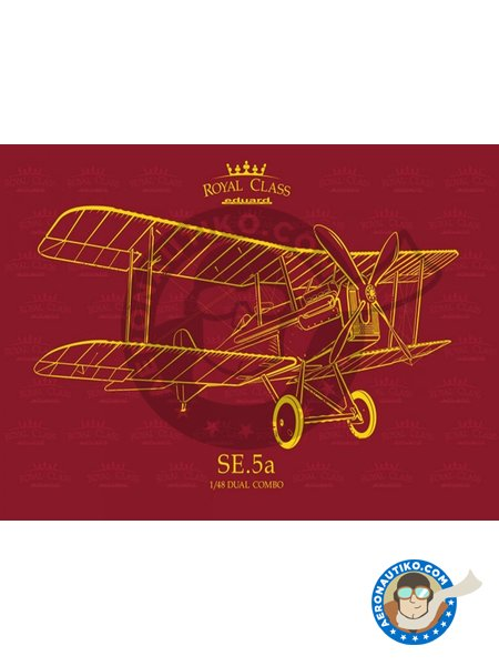 SE.5a | Model kit in 1/48 scale manufactured by Eduard (ref. R0015) image