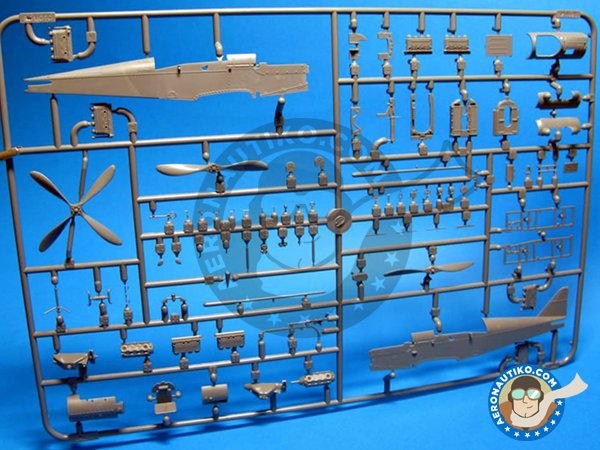 Image 1: SE.5a | Model kit in 1/48 scale manufactured by Eduard (ref.R0015)