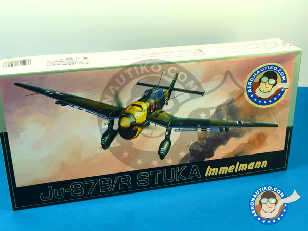 Image 1: Junkers Ju-87 Stuka B/R | Airplane kit in 1/72 scale manufactured by Fujimi (ref.FJ25013)