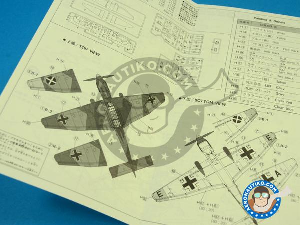 Image 8: Junkers Ju-87 Stuka B/R | Airplane kit in 1/72 scale manufactured by Fujimi (ref.FJ25013)