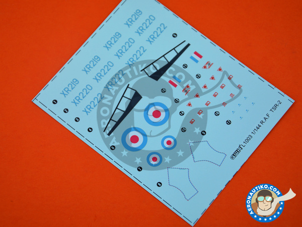 Image 1: British Aircraft Corporation TSR-2 | Airplane kit in 1/144 scale manufactured by Great Wall Hobby (ref. L1003)