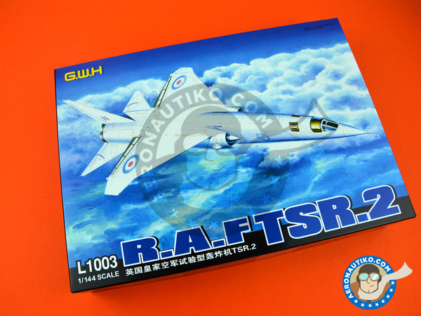 Image 8: British Aircraft Corporation TSR-2 | Airplane kit in 1/144 scale manufactured by Great Wall Hobby (ref. L1003)