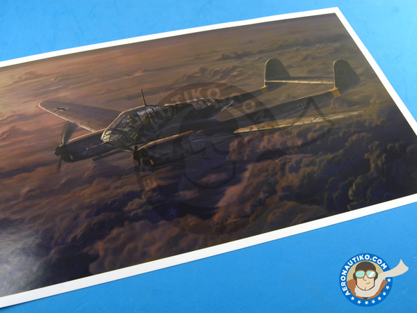 Image 1: Focke-Wulf Fw 189 Uhu A-1 Nacht Jäger | Airplane kit in 1/48 scale manufactured by Great Wall Hobby (ref. L4801)