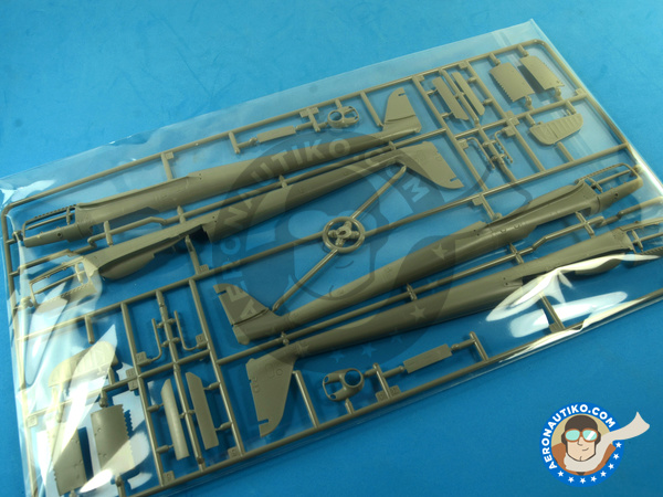 Image 7: Focke-Wulf Fw 189 Uhu A-1 Nacht Jäger | Airplane kit in 1/48 scale manufactured by Great Wall Hobby (ref. L4801)