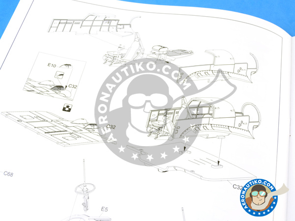 Image 13: Focke-Wulf Fw 189 Uhu A-1 Nacht Jäger | Airplane kit in 1/48 scale manufactured by Great Wall Hobby (ref. L4801)