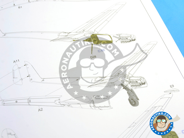 Image 16: Focke-Wulf Fw 189 Uhu A-1 Nacht Jäger | Airplane kit in 1/48 scale manufactured by Great Wall Hobby (ref. L4801)