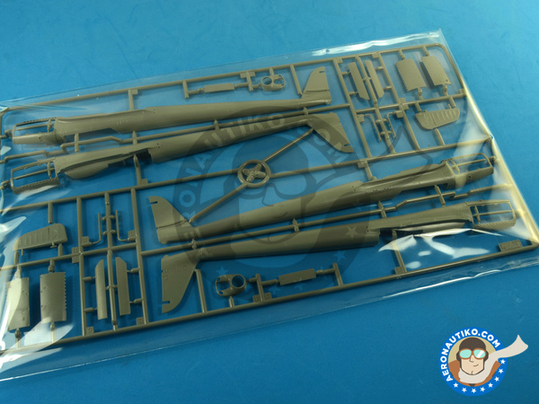 Image 5: Focke-Wulf Fw 189 Uhu A-2 | Airplane kit in 1/48 scale manufactured by Great Wall Hobby (ref. L4803)