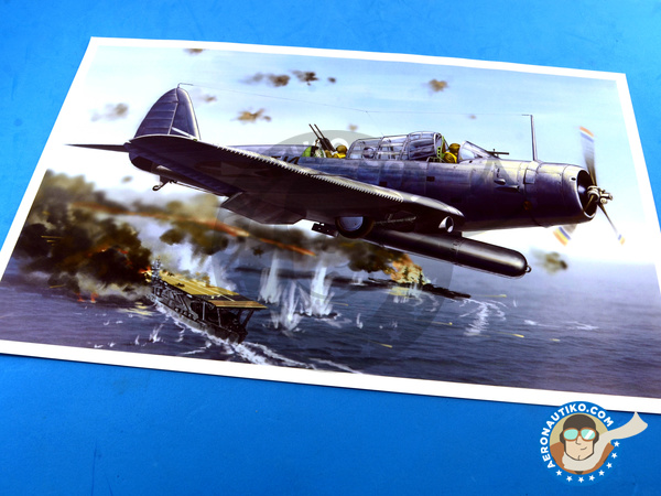Image 1: Douglas TBD Devastator 1 VT-8 | Airplane kit in 1/48 scale manufactured by Great Wall Hobby (ref. L4807)