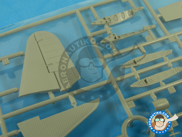 Image 9: Douglas TBD Devastator 1 VT-8 | Airplane kit in 1/48 scale manufactured by Great Wall Hobby (ref. L4807)