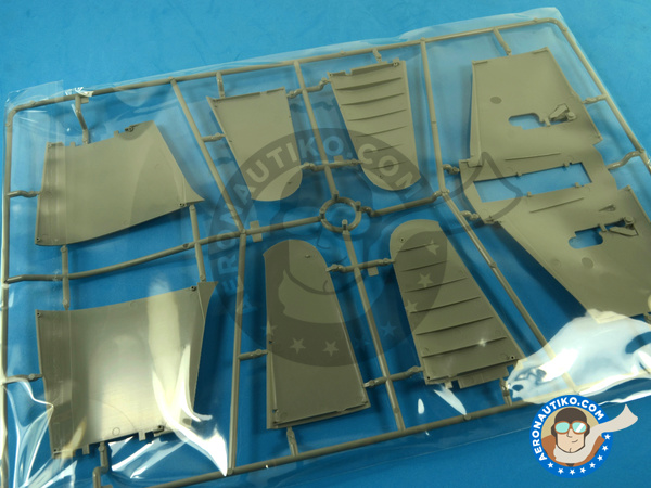 Image 13: Douglas TBD Devastator 1 VT-8 | Airplane kit in 1/48 scale manufactured by Great Wall Hobby (ref. L4807)
