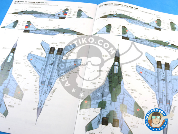 Image 27: Mikoyan MiG-29 Fulcrum 9-12 Late type | Airplane kit in 1/48 scale manufactured by Great Wall Hobby (ref. L4811)
