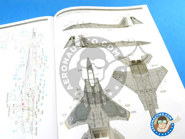 Image 33: McDonnell Douglas F-15 Eagle B / D | Airplane kit in 1/48 scale manufactured by Great Wall Hobby (ref. L4815)