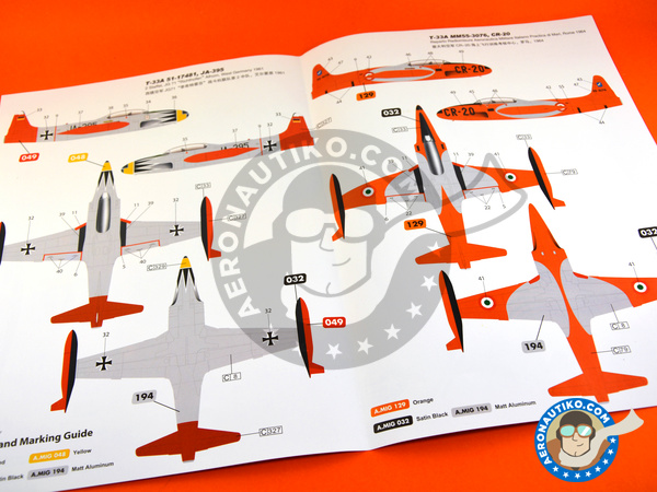 Image 14: Lockheed T-33 Shooting Star A early version | Airplane kit in 1/48 scale manufactured by Great Wall Hobby (ref. L4819)