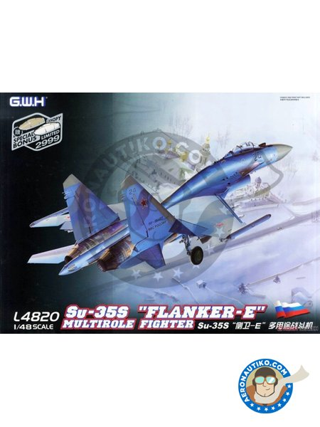 """Sukhoi Su-35S """"Flanker-E"""" Multirole Fighter 