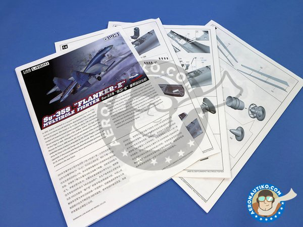"Image 20: Sukhoi Su-35S ""Flanker-E"" Multirole Fighter 
