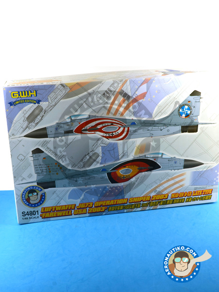 Mikoyan MiG-29 Fulcrum 9-12 Late type | Airplane kit in 1/48 scale manufactured by Great Wall Hobby (ref. S4801) image