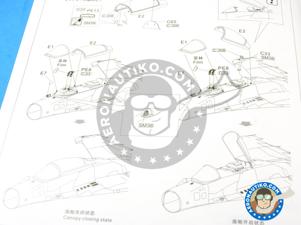 Image 25: Mikoyan MiG-29 Fulcrum 9-12 Late type | Airplane kit in 1/48 scale manufactured by Great Wall Hobby (ref. S4801)