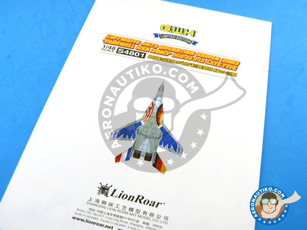 Image 30: Mikoyan MiG-29 Fulcrum 9-12 Late type | Airplane kit in 1/48 scale manufactured by Great Wall Hobby (ref. S4801)