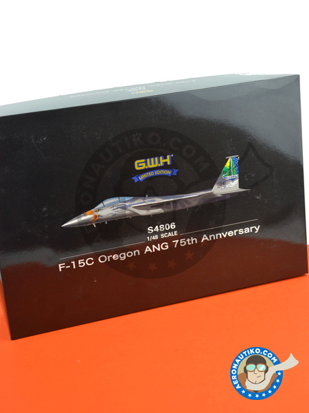 McDonnell Douglas F-15 Eagle C | Airplane kit in 1/48 scale manufactured by Great Wall Hobby (ref.S4806) image
