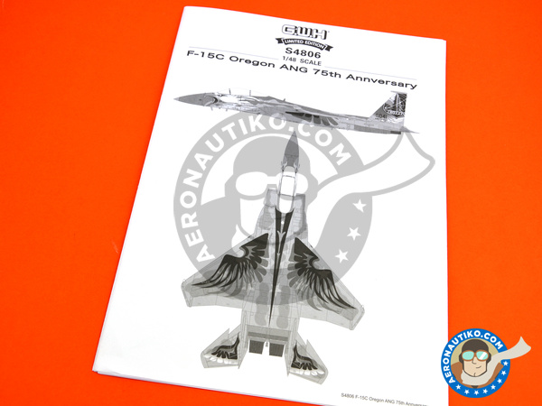 Image 15: McDonnell Douglas F-15 Eagle C | Airplane kit in 1/48 scale manufactured by Great Wall Hobby (ref. S4806)