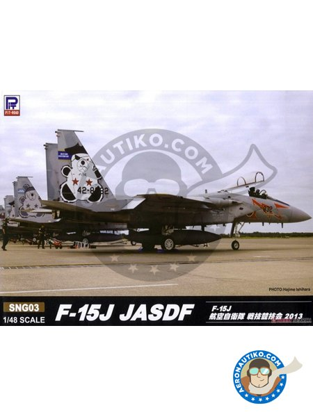 F-15J JASDF TAC Meet 2013 | Model kit in 1/48 scale manufactured by Great Wall Hobby (ref. SNG03) image