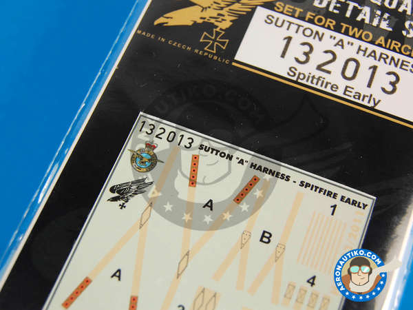 Image 5: Supermarine Spitfire | Seatbelts in 1/32 scale manufactured by HGW (ref. 132013)