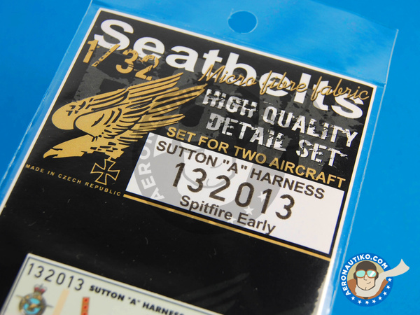 Image 6: Supermarine Spitfire | Seatbelts in 1/32 scale manufactured by HGW (ref. 132013)
