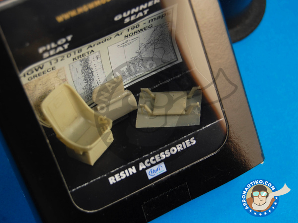Image 2: Arado Ar 196 | Upgrade in 1/32 scale manufactured by HGW (ref. 132018)