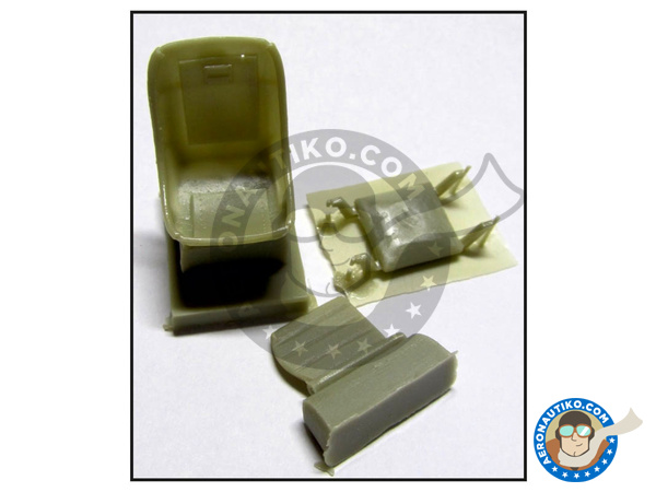 Image 1: Arado Ar 196 | Seatbelts in 1/32 scale manufactured by HGW (ref. 132564)