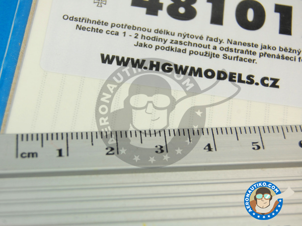 Image 3: Rivets on two lines | Rivets manufactured by HGW (ref.481012)